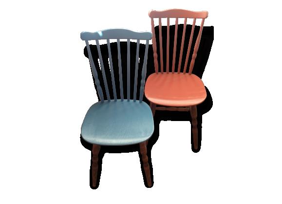 chaise bistrot rouge. Black Bedroom Furniture Sets. Home Design Ideas