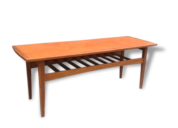 Table basse double plateaux for Table basse double plateau scandinave