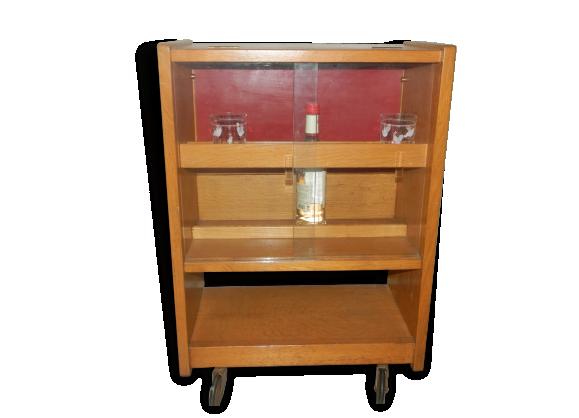 meuble rangement roulettes. Black Bedroom Furniture Sets. Home Design Ideas