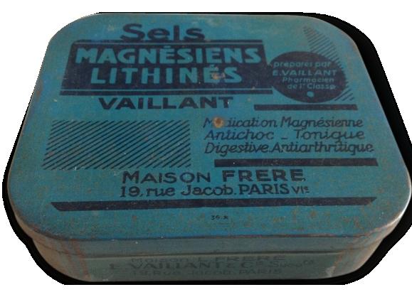 Boîte Sels Magnésiens E. VAILLANT