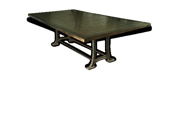 Grande table d'armurerie