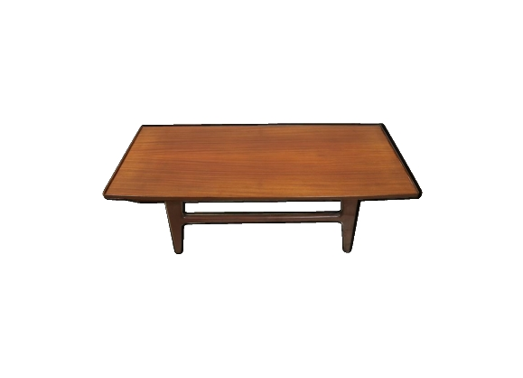 Table basse au design scandinave 1960- réversible bois ou formica
