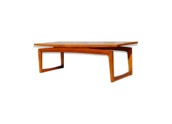 Table basse design danois teck bois couleur bon for Chambre design danois