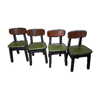 Chaise design industrielle scandinave vintage d 39 occasion - Chaises scandinaves vintage ...
