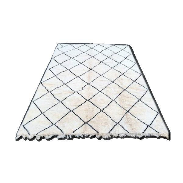 tapis marocain fait main laine nouvelle 400 x 300 cm 4 x 3 xxxl tissu multicolore bon tat. Black Bedroom Furniture Sets. Home Design Ideas