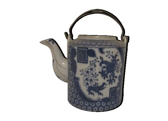 Théière porcelaine chine bleu