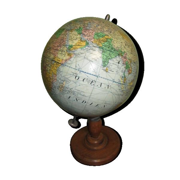 globe terrestre papier multicolore bon tat vintage 649314cd7304397387146d74b09d2faf. Black Bedroom Furniture Sets. Home Design Ideas