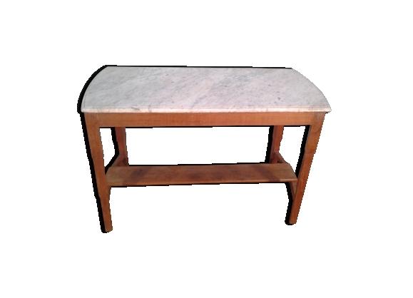 Table de cuisine dessus marbre