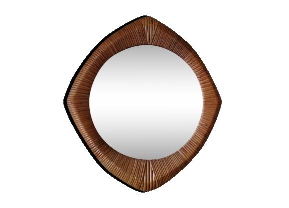 Miroir 45 cm for Miroir rotin oeil