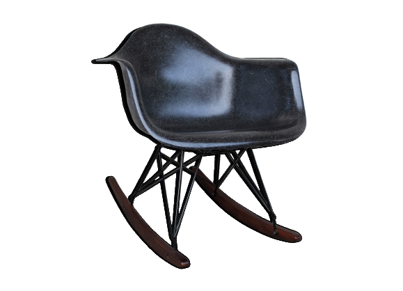 Rocking chair RAR par Charles & Ray Eames Herman Miller 1960