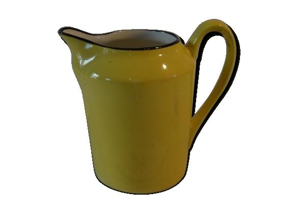Cruche en Vieux Nimy jaune