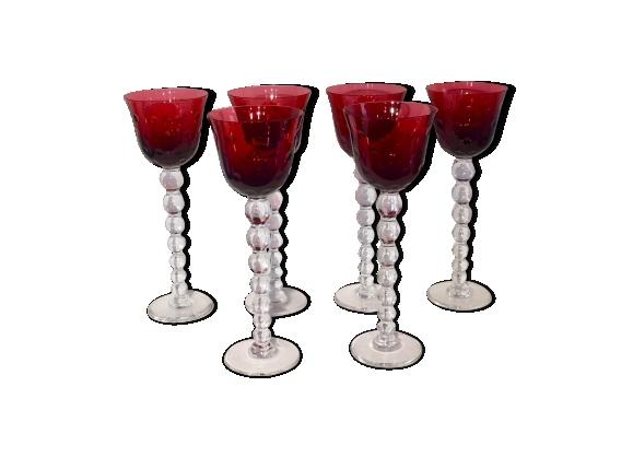 Ensemble de 6 verres Roemer Bubbles