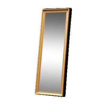 Miroir rectangulaire doré