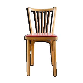 chaise de couleur rouge vintage d 39 occasion. Black Bedroom Furniture Sets. Home Design Ideas