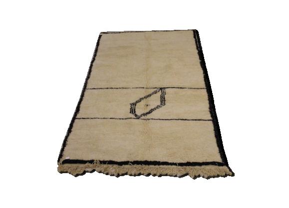 tapis berb re beni ouarain 260x160 cm tissu multicolore bon tat thnique. Black Bedroom Furniture Sets. Home Design Ideas