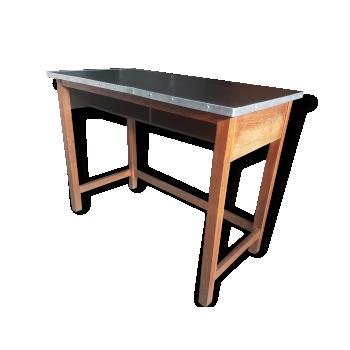 Console de couleur noire vintage d 39 occasion - Table console ancienne ...