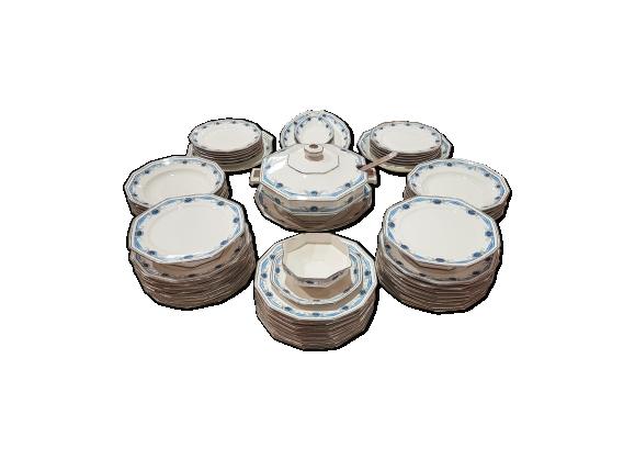 Service en porcelaine de limoges art déco