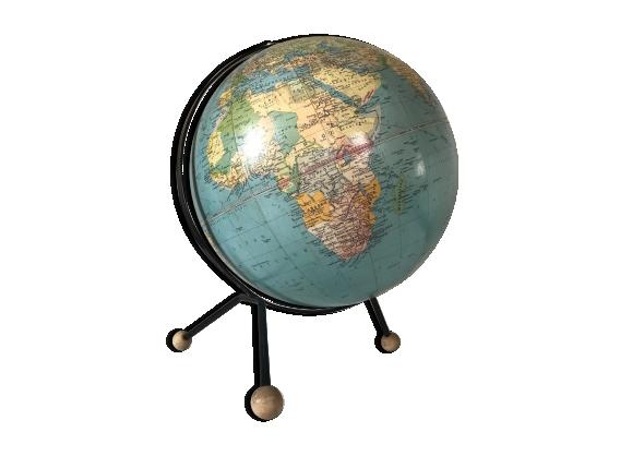 globe terrestre vintage. Black Bedroom Furniture Sets. Home Design Ideas