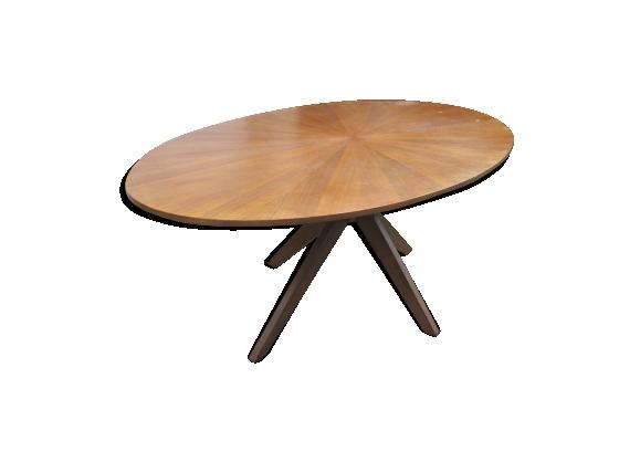Table vintage ovale