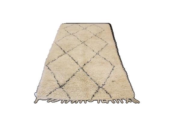 tapis beni ouarain 240x140cm tissu multicolore bon tat thnique. Black Bedroom Furniture Sets. Home Design Ideas