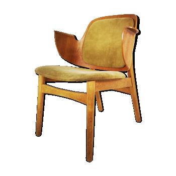 Chaise 107 par Hans Olsen pour Bramin, 1957