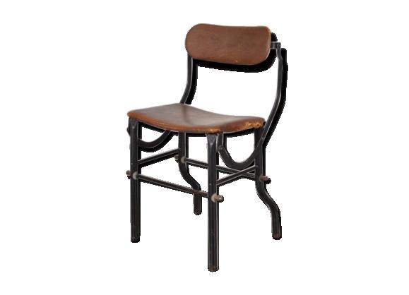 Chaise d 39 atelier industrielle de tan sad angleterre for Chaise 1930
