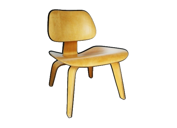 Chaise LCW de Charles & Ray Eames pour Herman Miller 1950