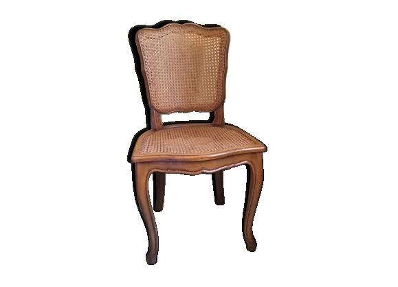 Chaise cann e achat vente de chaise pas cher - Chaise escabeau ancienne ...