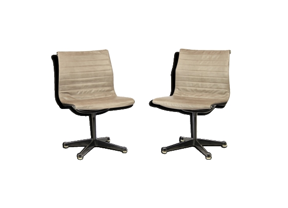 EA-104 Alu Desk Chair By Charles & Ray Eames For Herman Miller, 1970s