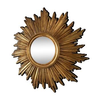 Miroirs vintage d 39 occasion for Miroir soleil oeil sorciere