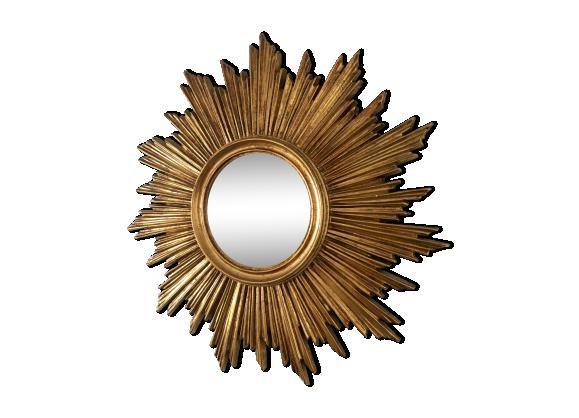Miroir soleil oeil de sorci re 1960 pierre et pl tre for Glace soleil miroir