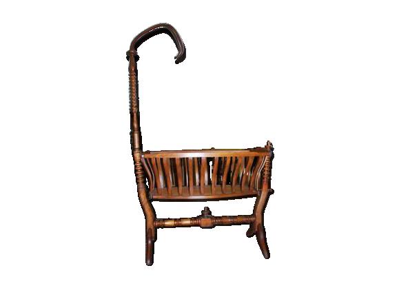 berceau en bois bois mat riau marron bon tat classique 15f6d50f52d53bae8e982fe8e8439d5e. Black Bedroom Furniture Sets. Home Design Ideas