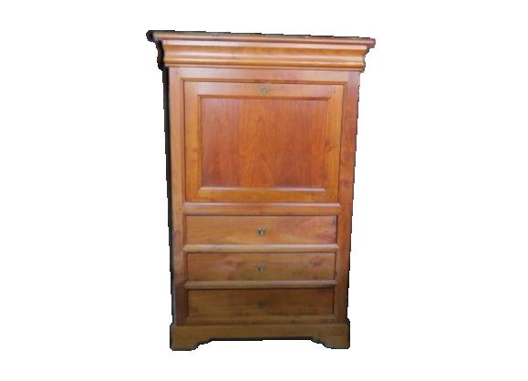 secr taire abattant bois mat riau bois couleur bon tat classique. Black Bedroom Furniture Sets. Home Design Ideas