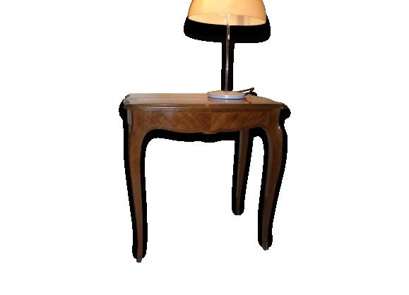 Table marquetée style louis xv