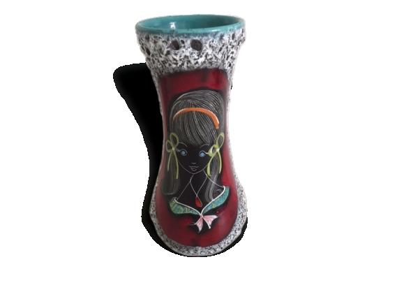 Vase typique années 50-60