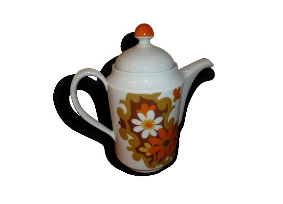 Cafetiere theiere porcelaine nomar vintage