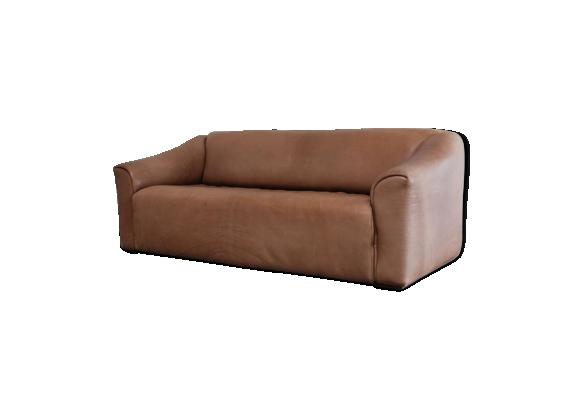 Canapé DS47 cognac en cuir marque De Sede