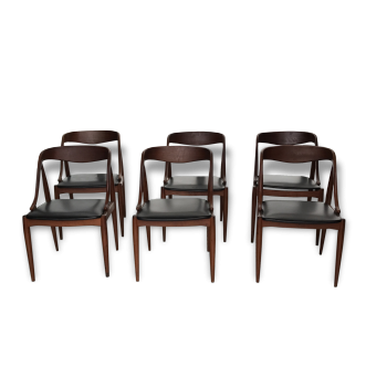 6 chaises design scandinave johannes andersen samcom uldum