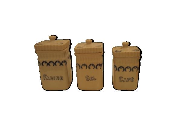 Trio de pots à épices