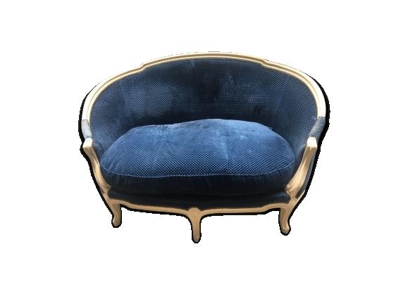 Canapé corbeille de style Louis XV