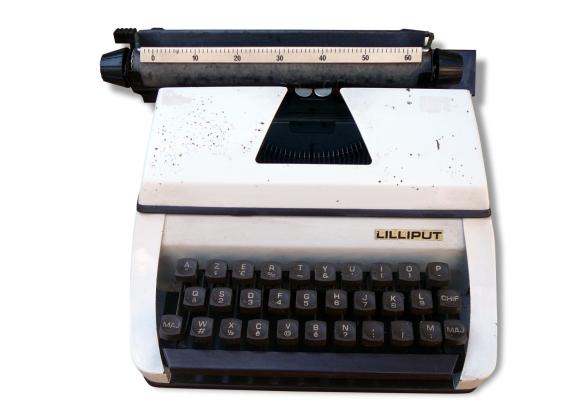Machine à écrire Lilliput