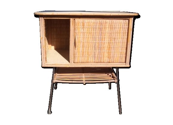 Desserte vintage petit meuble d'appoint années 50-60