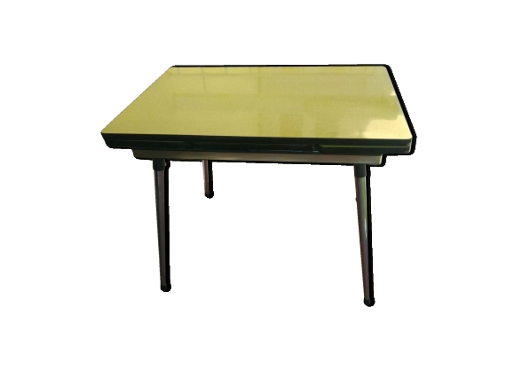 Meuble formica ann es for Table de cuisine des annees 50
