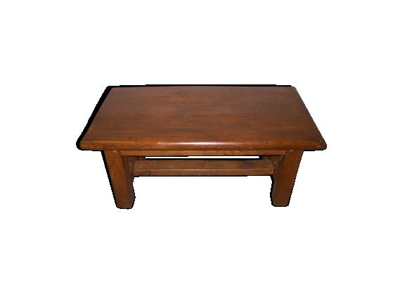 Table basse ancienne en chéne massif