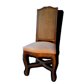 chaise de couleur beige vintage d 39 occasion. Black Bedroom Furniture Sets. Home Design Ideas