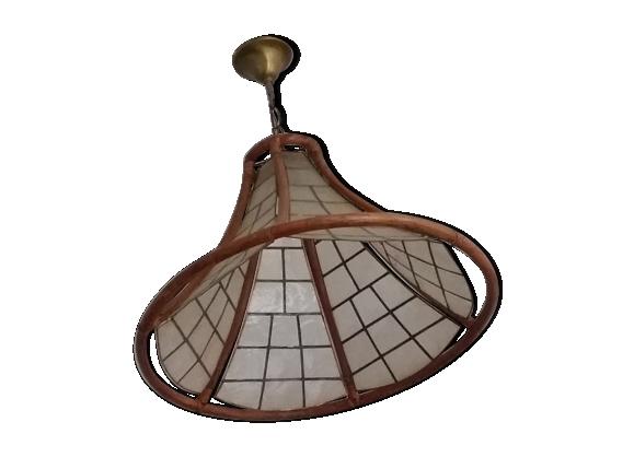suspension luminaire rotin. Black Bedroom Furniture Sets. Home Design Ideas