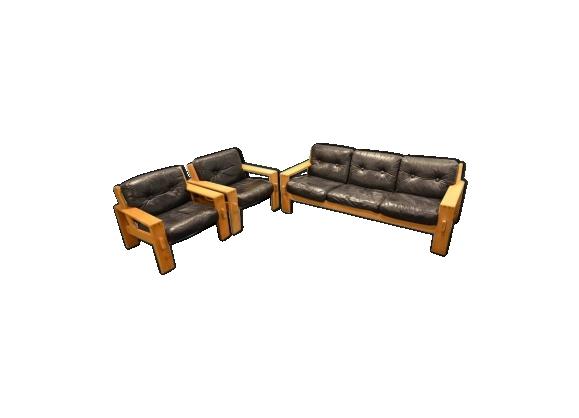 Salon canap fauteuil for Canape et deux fauteuils