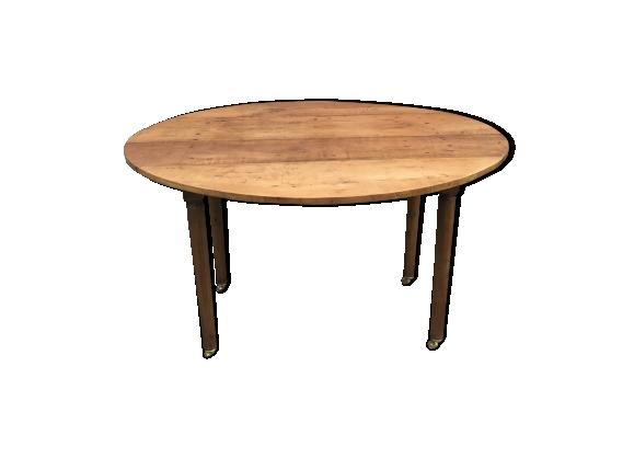 Table ovale en cerisier