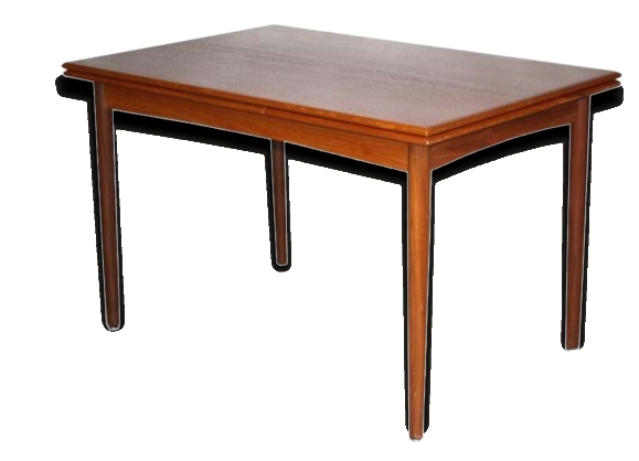 Table extensible années 50