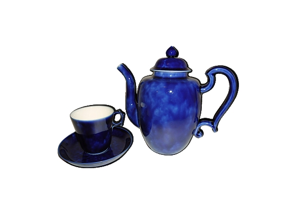 Verseuse et sa tasse avec sous-tasse